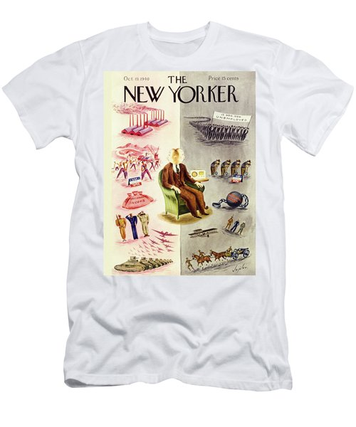 New Yorker October 19 1940 Men's T-Shirt (Athletic Fit)
