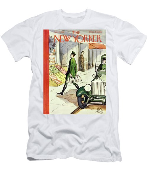 New Yorker October 22 1932 Men's T-Shirt (Athletic Fit)