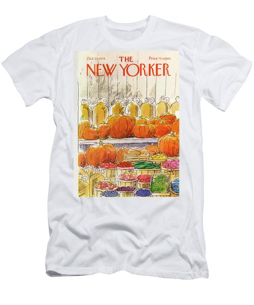 New Yorker October 25th, 1976 Men's T-Shirt (Athletic Fit)