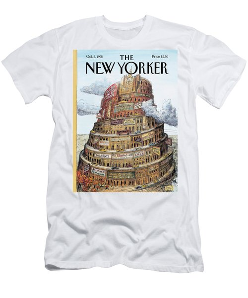 New Yorker October 2nd, 1995 Men's T-Shirt (Athletic Fit)