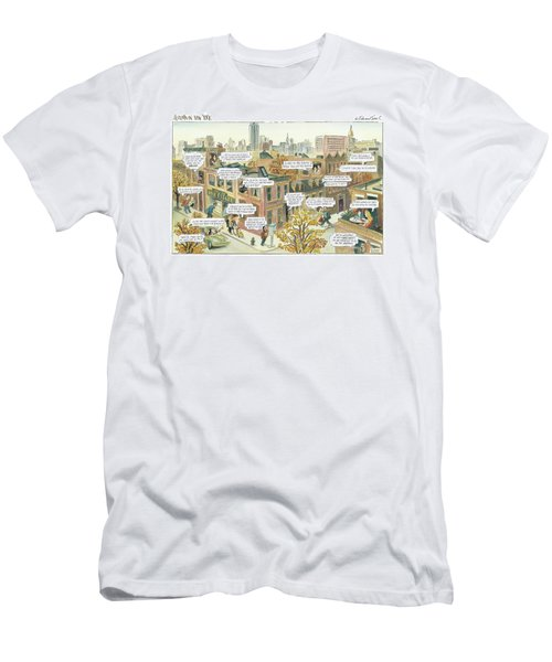 New Yorker October 2nd, 2000 Men's T-Shirt (Athletic Fit)