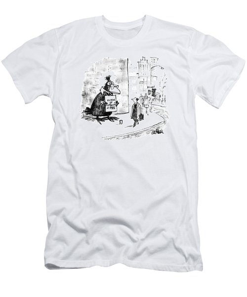 New Yorker October 7th, 1991 Men's T-Shirt (Athletic Fit)