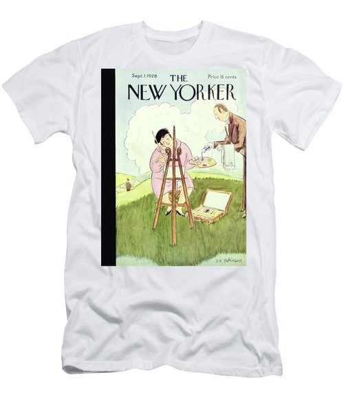 New Yorker September 1 1928 Men's T-Shirt (Athletic Fit)