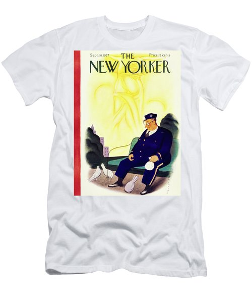 New Yorker September 18 1937 Men's T-Shirt (Athletic Fit)