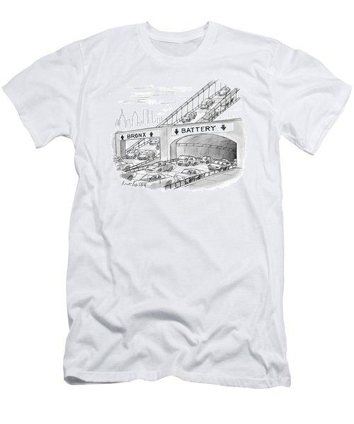 New Yorker September 20th, 1999 Men's T-Shirt (Athletic Fit)