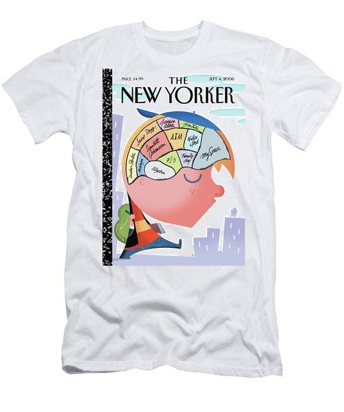 New Yorker September 4th, 2006 Men's T-Shirt (Athletic Fit)