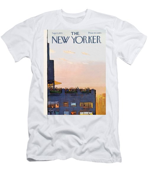 New Yorker September 5th, 1970 Men's T-Shirt (Athletic Fit)