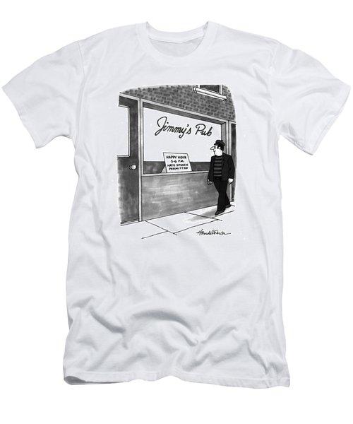 New Yorker September 6th, 1993 Men's T-Shirt (Athletic Fit)