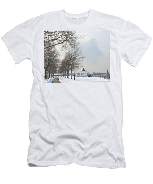 Newport Waterfront Men's T-Shirt (Athletic Fit)