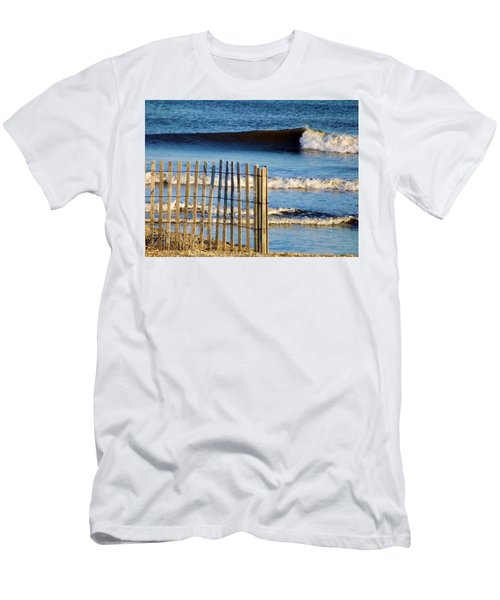 Nice Wave Men's T-Shirt (Slim Fit) by John Wartman