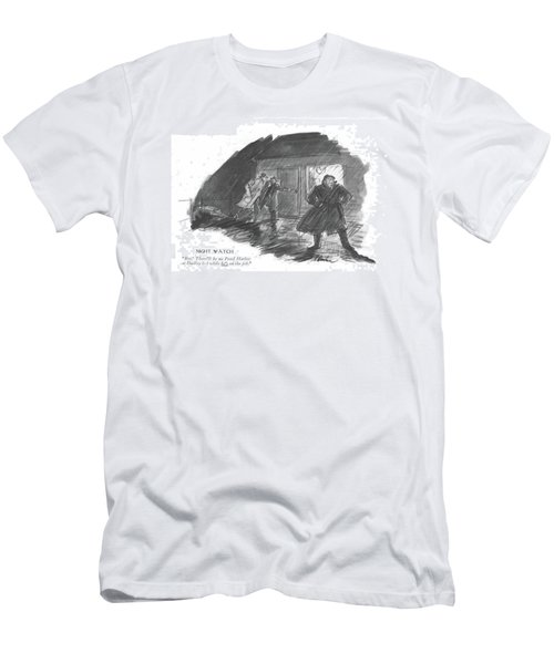 Night Watch Boy! There'll Be No Pearl Harbor Men's T-Shirt (Athletic Fit)