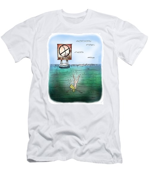No Grasping Men's T-Shirt (Athletic Fit)