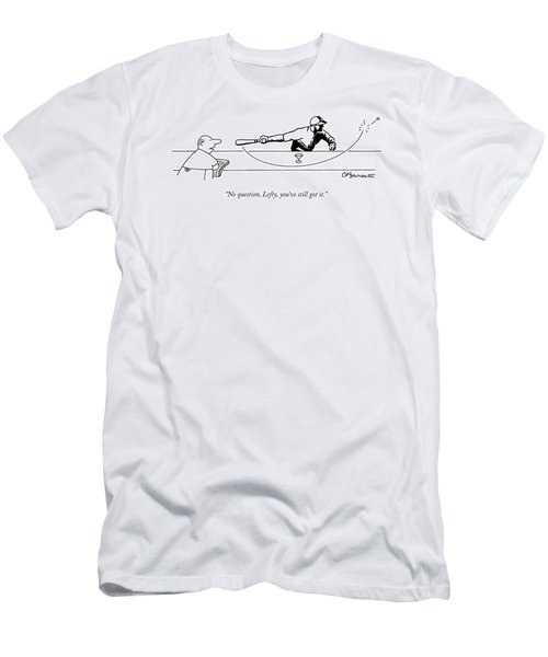 No Question Men's T-Shirt (Athletic Fit)