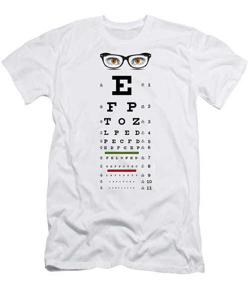 Eye Chart T Shirts Fine Art America