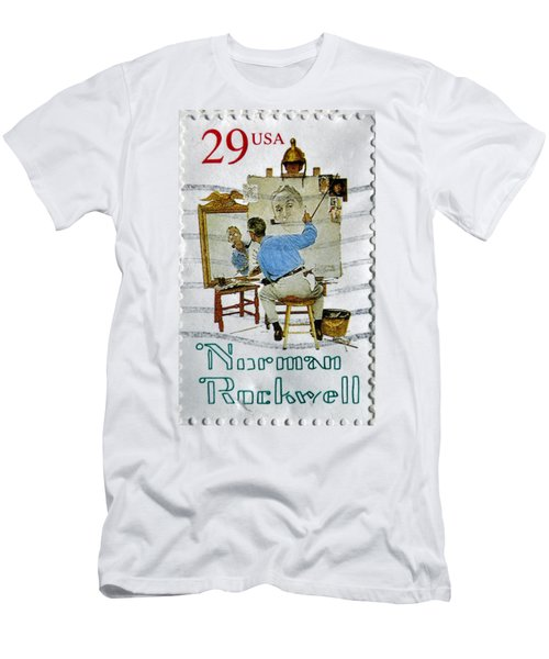 Norman Rockwell Men's T-Shirt (Athletic Fit)