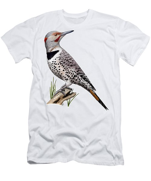 Northern Flicker Men's T-Shirt (Athletic Fit)