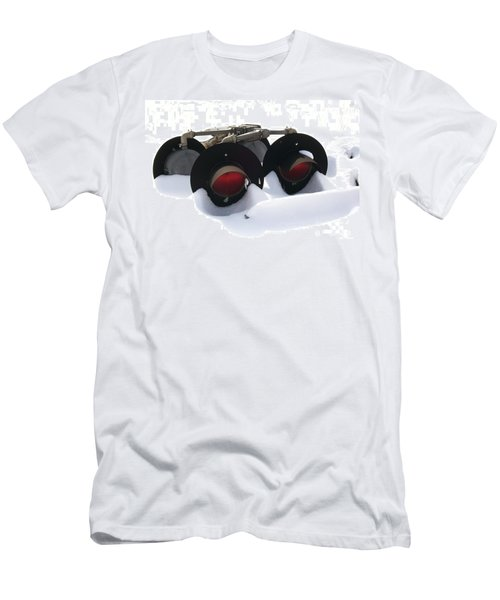 Men's T-Shirt (Slim Fit) featuring the photograph Nothin But Lights by Sara  Raber