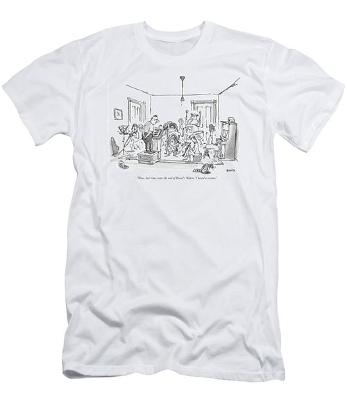 Now, Last Time, Near The End Of Ravel's 'bolero,' Men's T-Shirt (Athletic Fit)