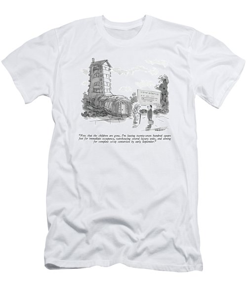 Now That The Children Are Gone Men's T-Shirt (Athletic Fit)