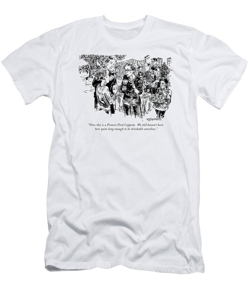 Now This Is A Francis Ford Coppola.  We Still Men's T-Shirt (Athletic Fit)