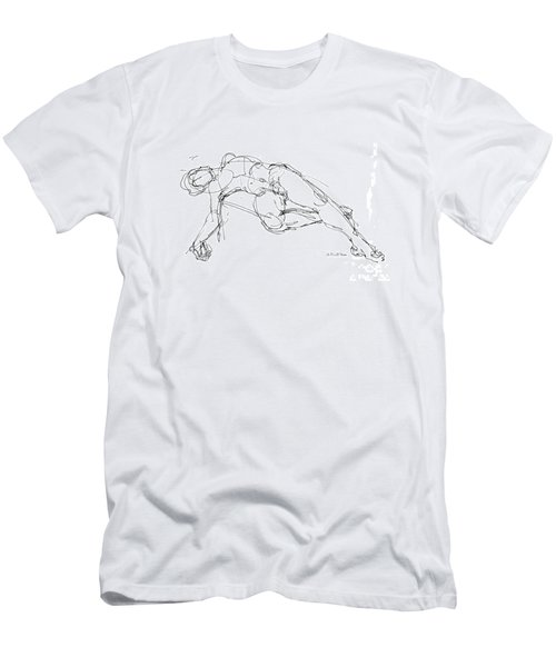 Nude Male Drawings 1 Men's T-Shirt (Athletic Fit)
