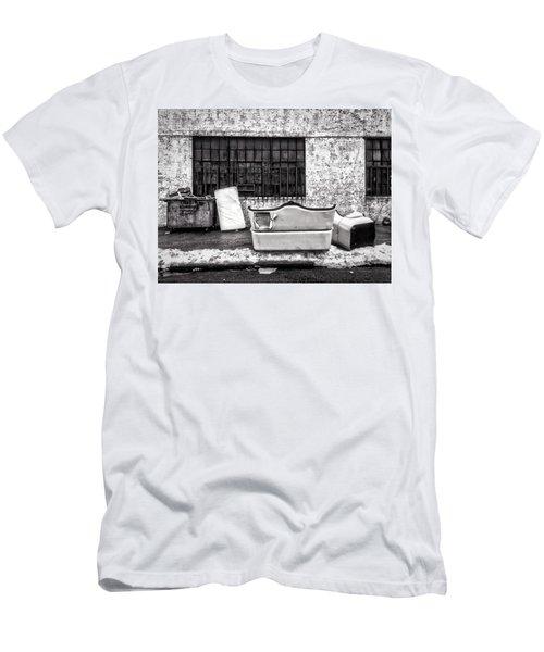 Nyc Sidewalk Men's T-Shirt (Athletic Fit)