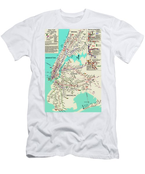 Nyc Subway Map Tshirt.Subway Map T Shirts Fine Art America