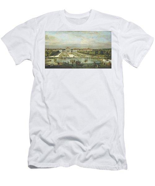 Nymphenburg Palace, Munich, C.1761 Oil On Canvas Men's T-Shirt (Athletic Fit)