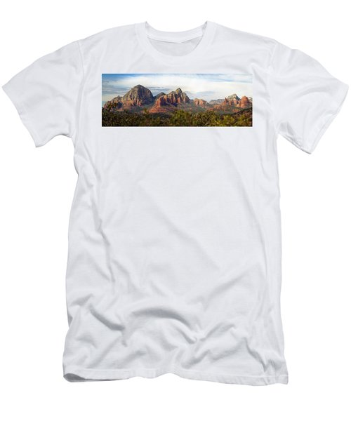 Oak Creek Canyon Sedona Pan Men's T-Shirt (Slim Fit) by Jeff Brunton