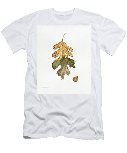 Men's T-Shirt (Slim Fit) featuring the painting Oak Study by Michele Myers