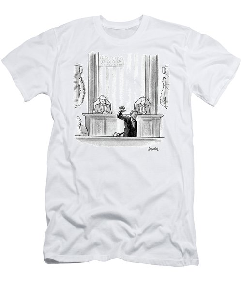 Obama Dropping A Mic Men's T-Shirt (Athletic Fit)
