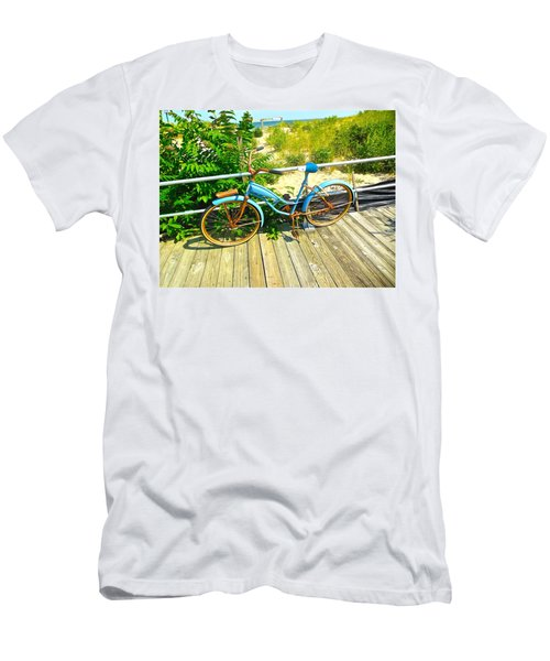 Ocean Grove Bike Men's T-Shirt (Athletic Fit)