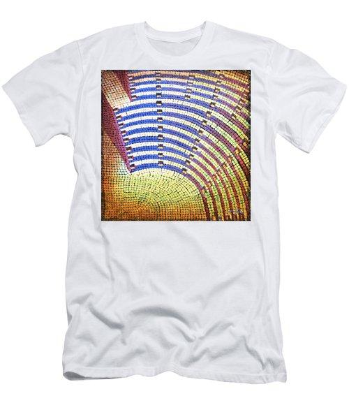 Ochre Auditorium Men's T-Shirt (Slim Fit) by Mark Jones