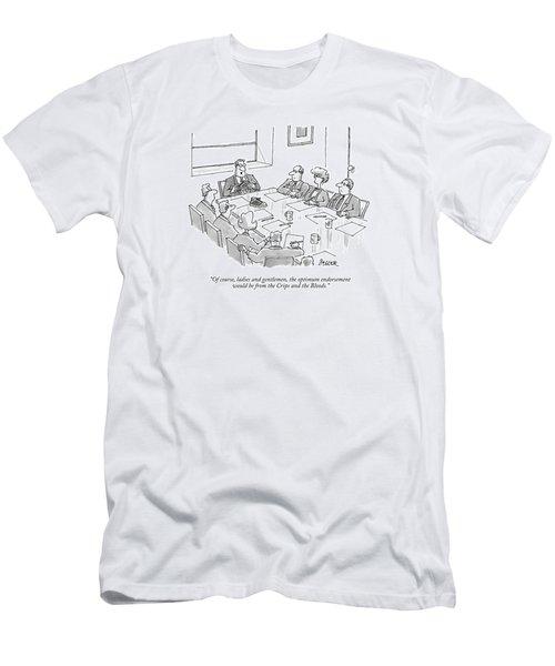Of Course, Ladies And Gentlemen, The Optimum Men's T-Shirt (Athletic Fit)