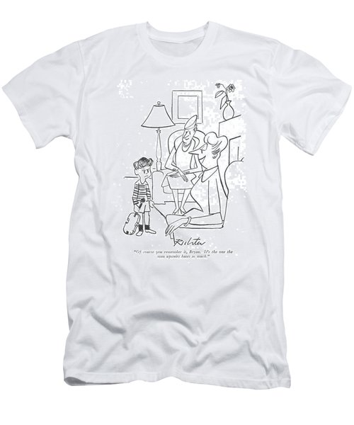 Of Course You Remember Men's T-Shirt (Athletic Fit)