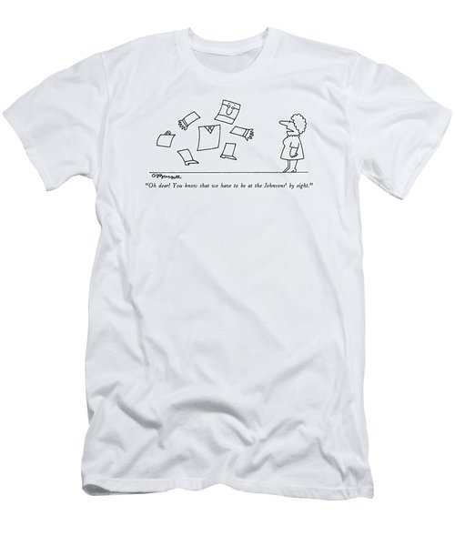 Oh Dear!  You Know That Men's T-Shirt (Athletic Fit)