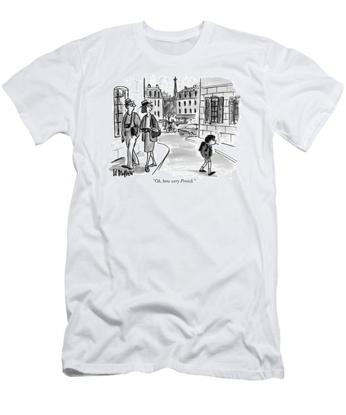 Oh, How Very French Men's T-Shirt (Athletic Fit)