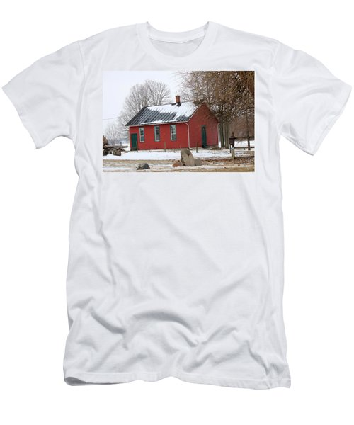 Old Ashland School House Men's T-Shirt (Athletic Fit)