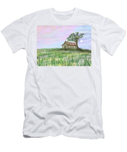 Old Barn Men's T-Shirt (Athletic Fit)