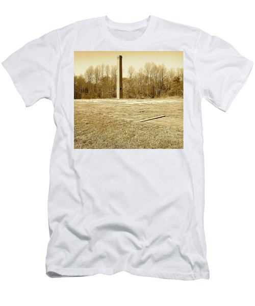 Old Faithful Smoke Stack Men's T-Shirt (Athletic Fit)