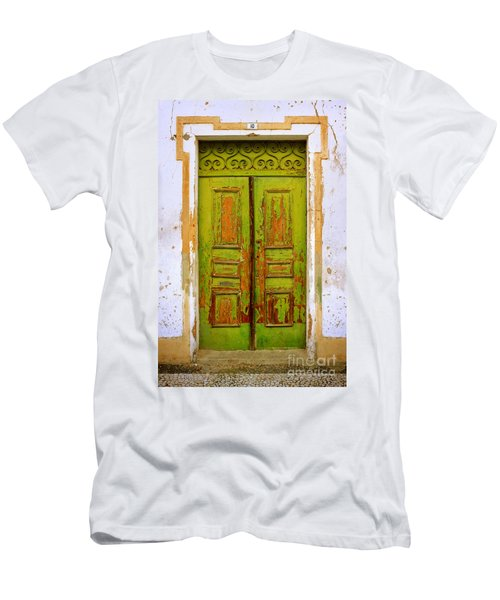 Old Green Door Men's T-Shirt (Athletic Fit)