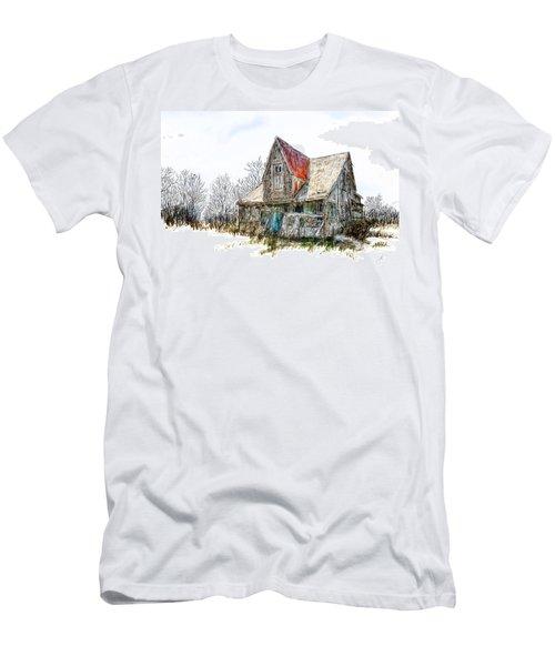 Old House Men's T-Shirt (Slim Fit) by Debra Baldwin