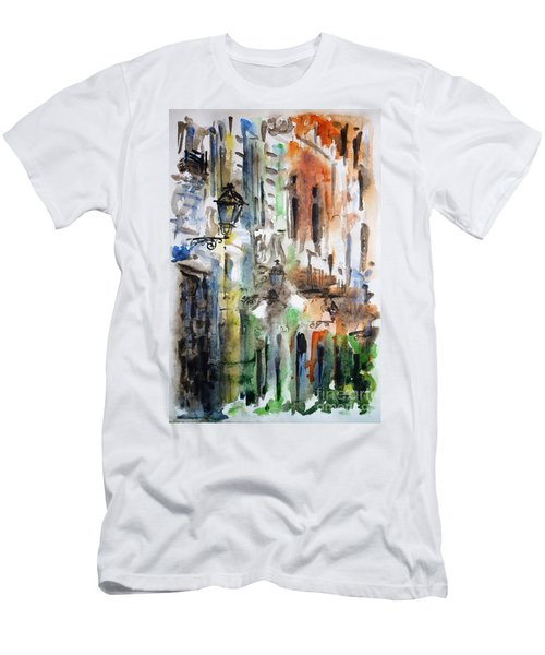 Old Houses Of San Juan Men's T-Shirt (Athletic Fit)