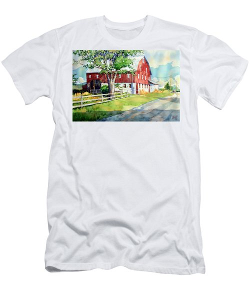 Old Red Men's T-Shirt (Athletic Fit)