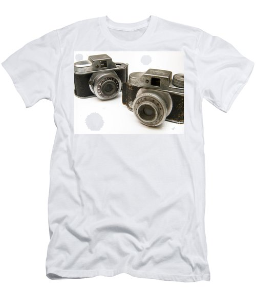 Old Toy Cameras Men's T-Shirt (Athletic Fit)