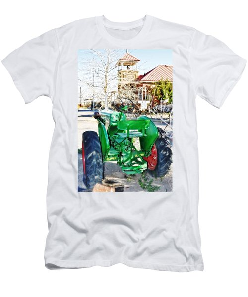 Oliver 60 Tractor In Dell Men's T-Shirt (Athletic Fit)