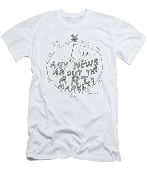 On A Desert Island Men's T-Shirt (Athletic Fit)