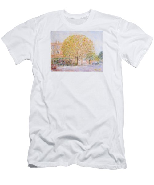 Leland Avenue In Chicago Men's T-Shirt (Athletic Fit)