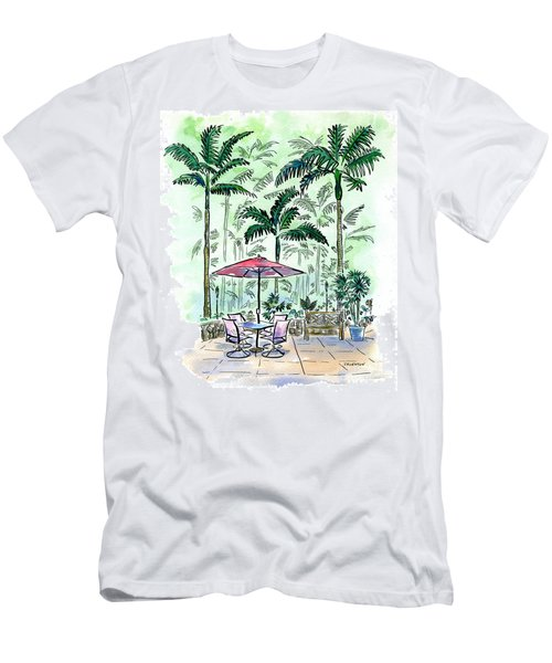 On The Lanai Men's T-Shirt (Athletic Fit)