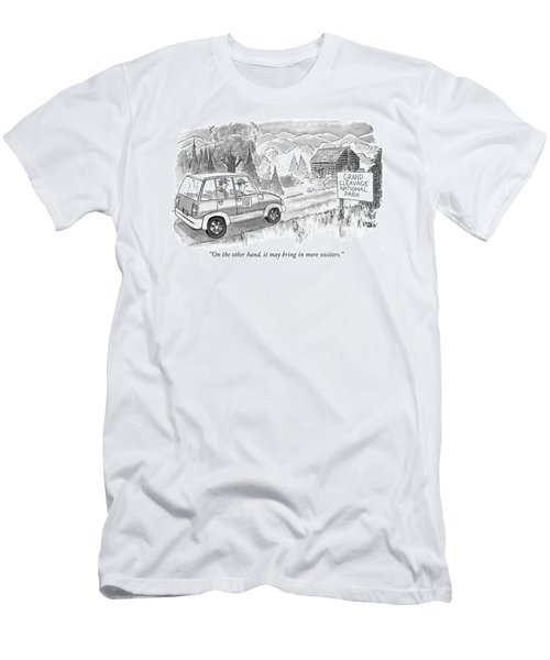 On The Other Hand Men's T-Shirt (Athletic Fit)